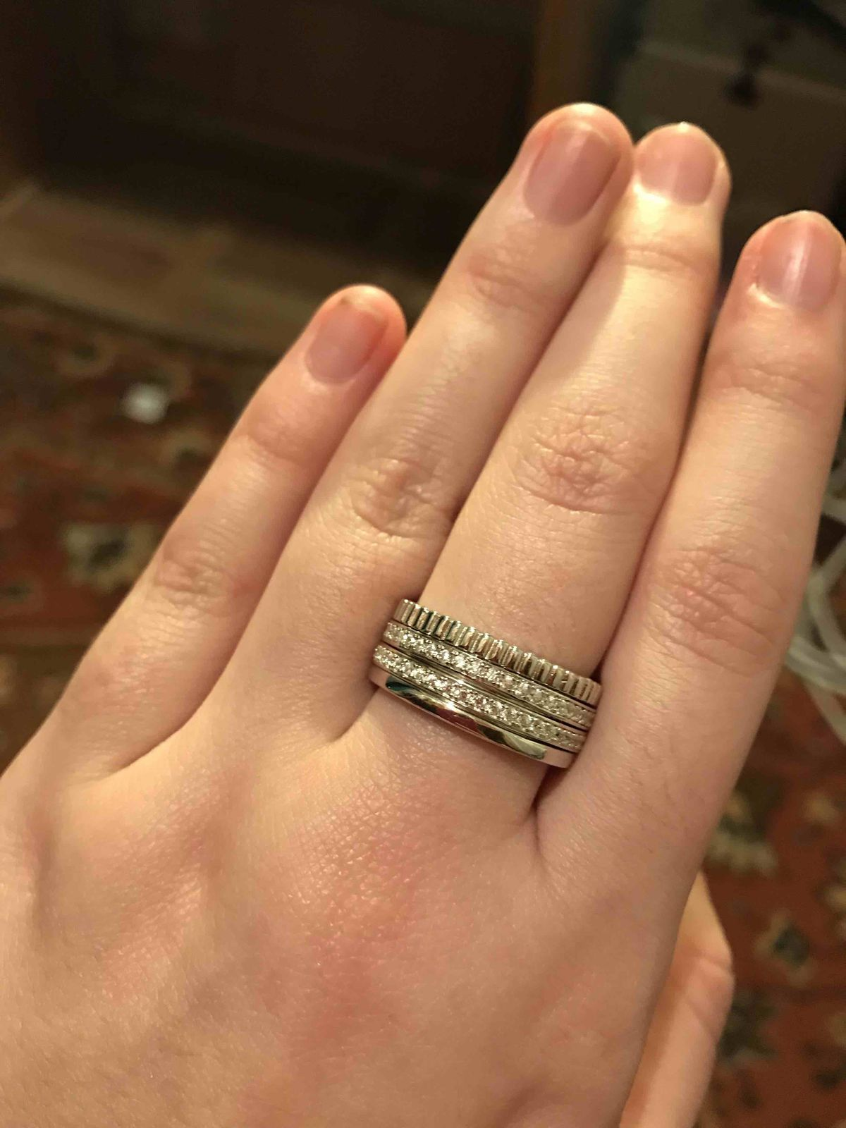 Очень хотела из серебра кольцо толстое