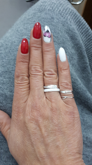 Кольцо двойка.
