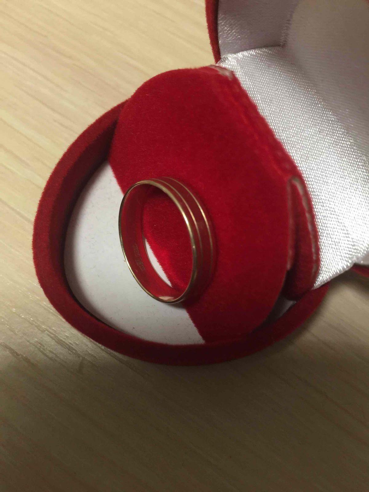 Невероятно красивое обручальное кольцо