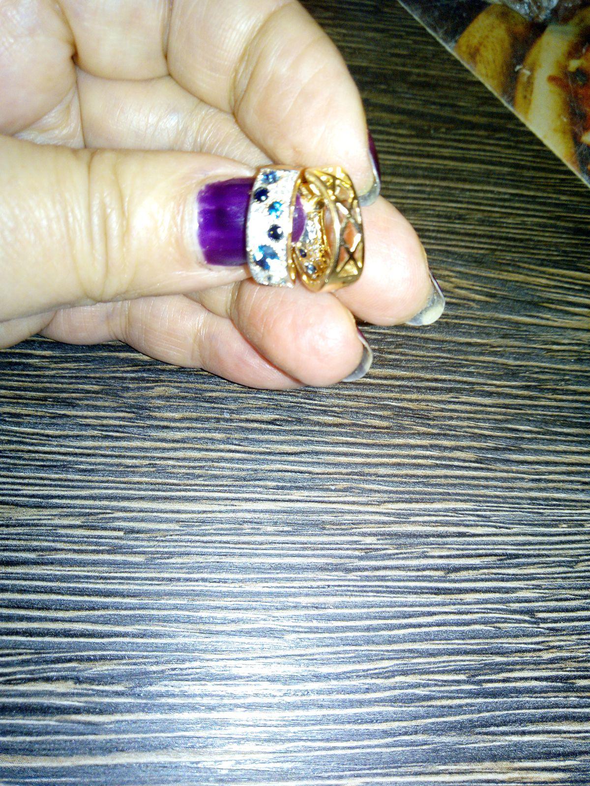 Золотые серьги с топазами ,сапфирами и бриллиантами