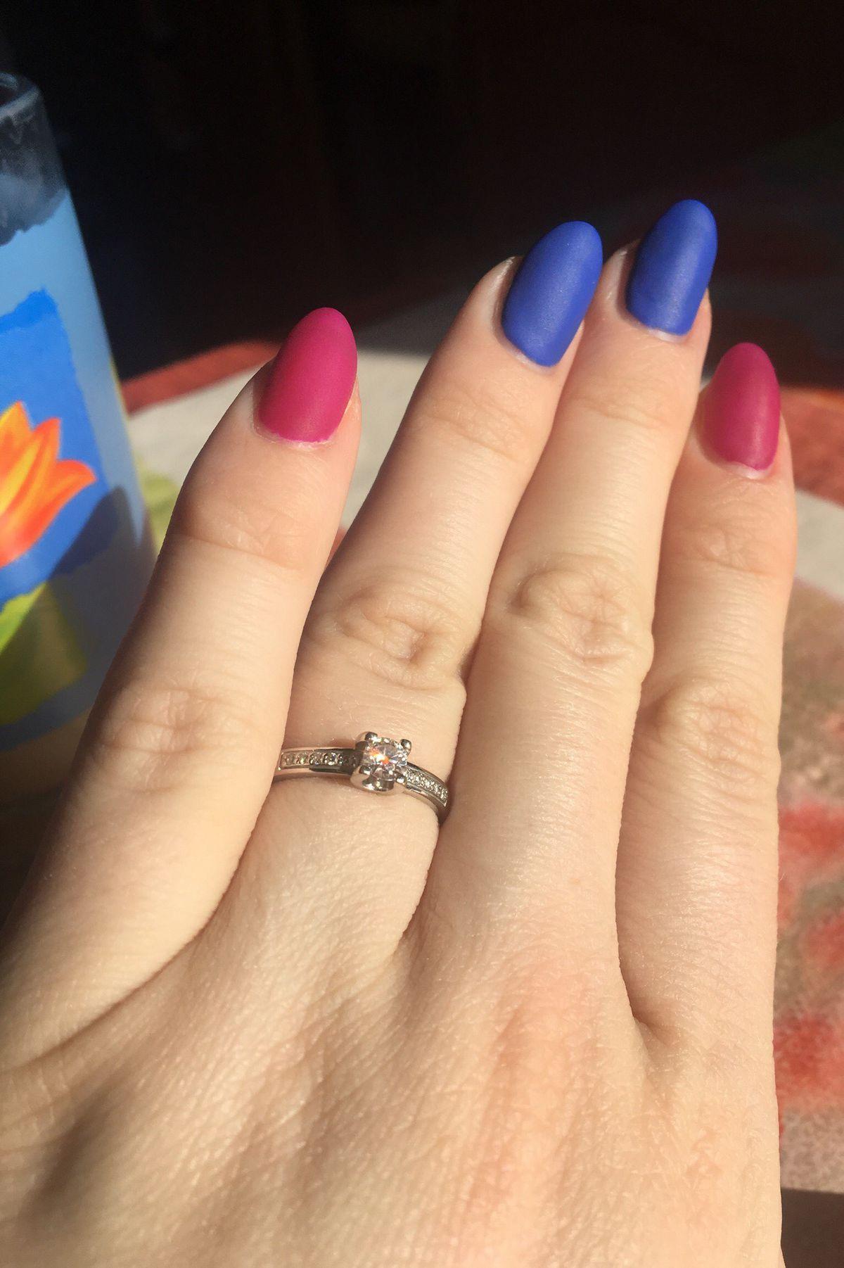 Кольцо для настоящей Леди !