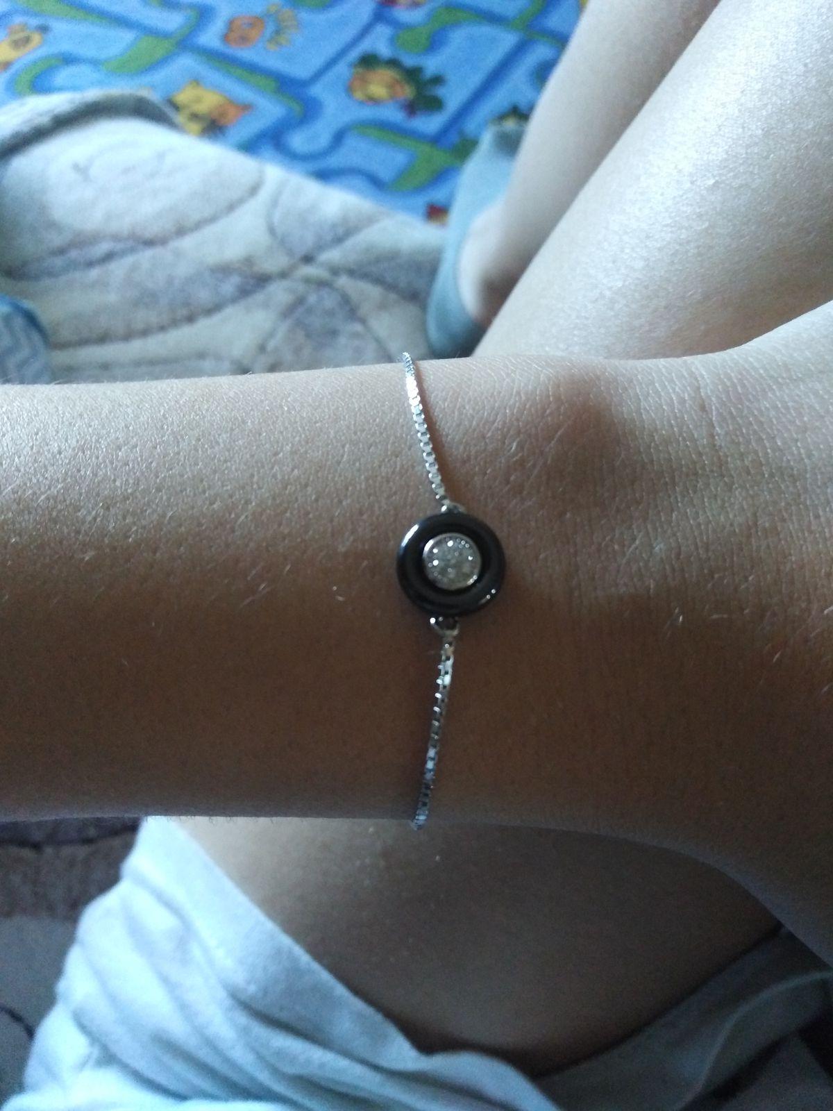 Прекрасный браслет, подходит для каждого любителя минимализма.