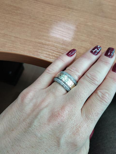Получила колечко!!!! 😘😘😘🤗🤗🤗 Радости нет предела! Шикарное кольцо! 😍