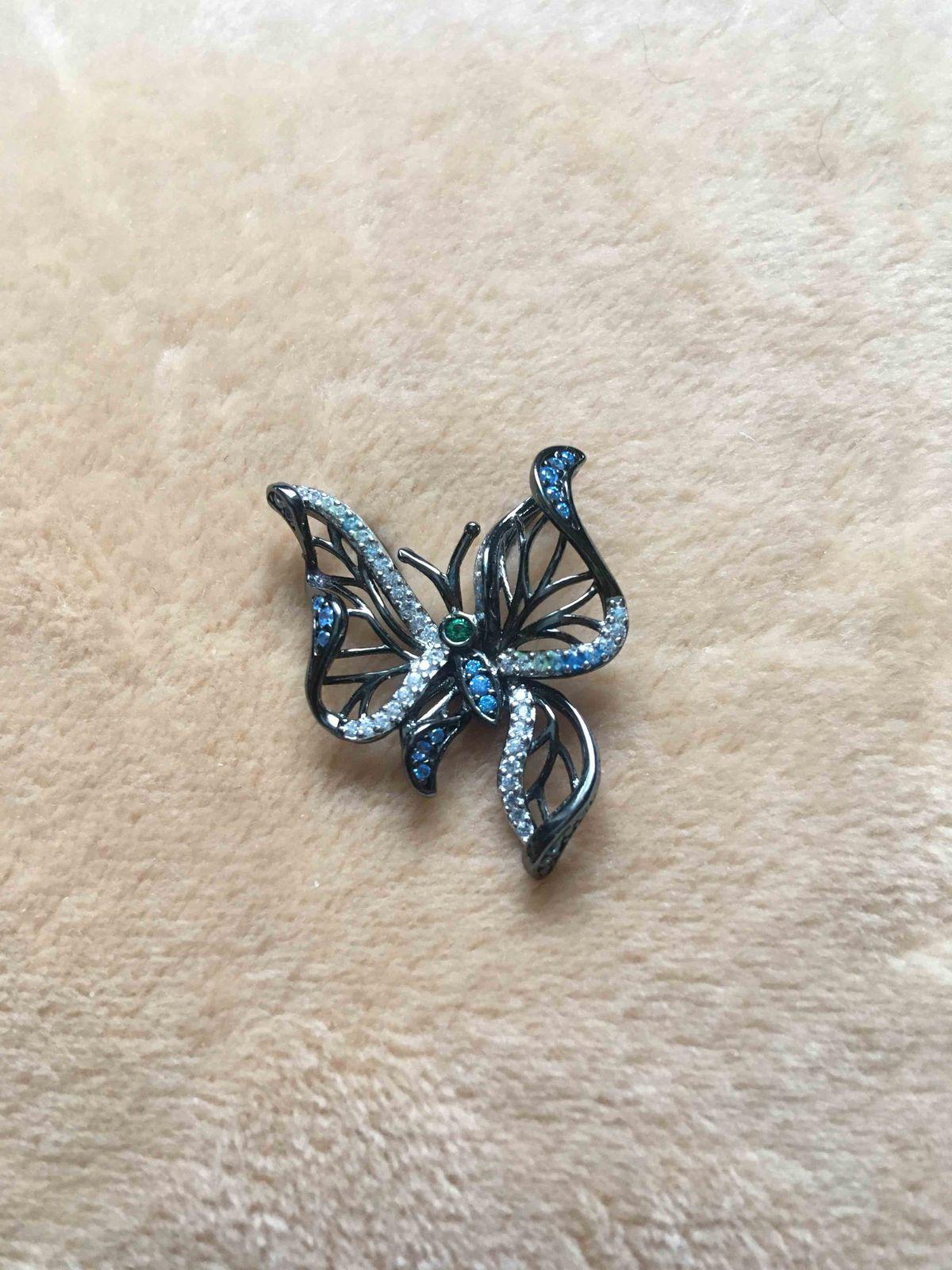 Бабочка кулон
