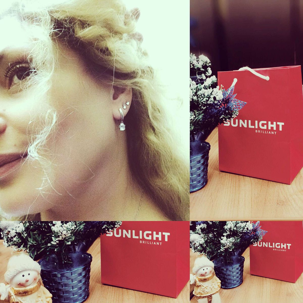 Серьги от SUNLIGHT