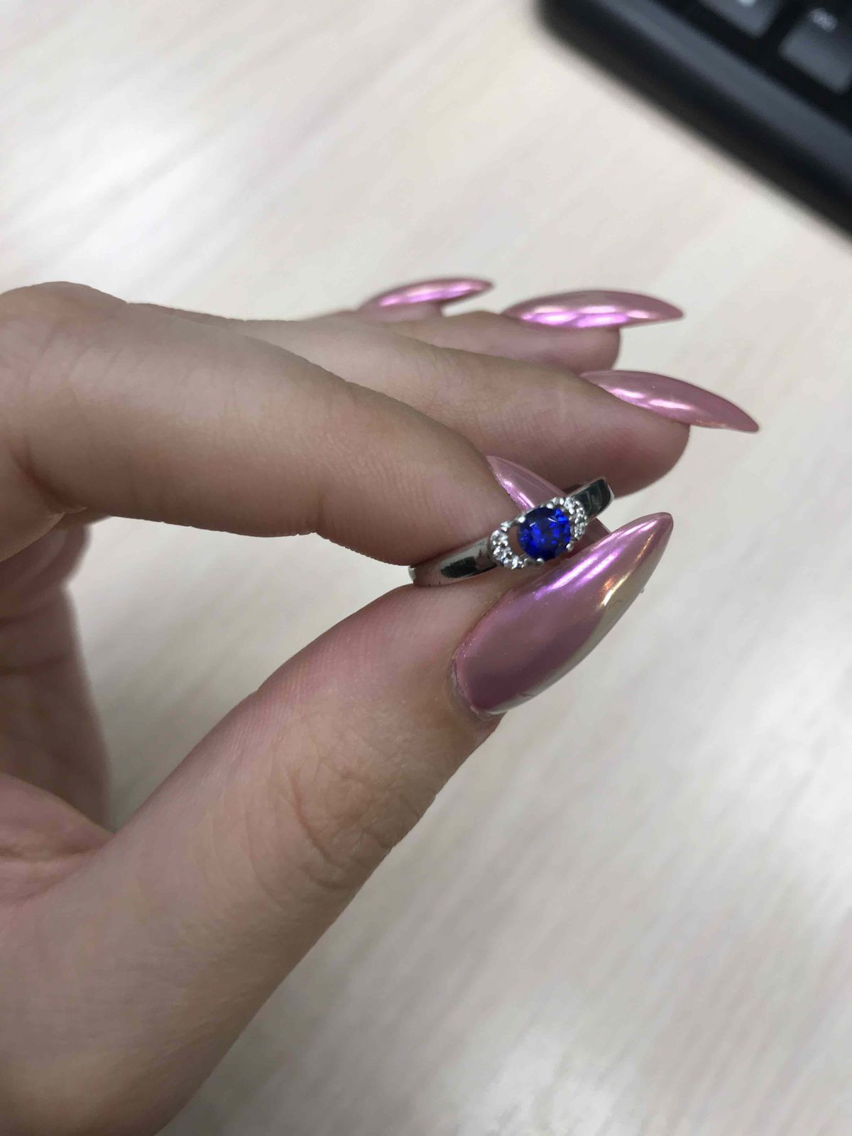 Серебрянное кольльцо