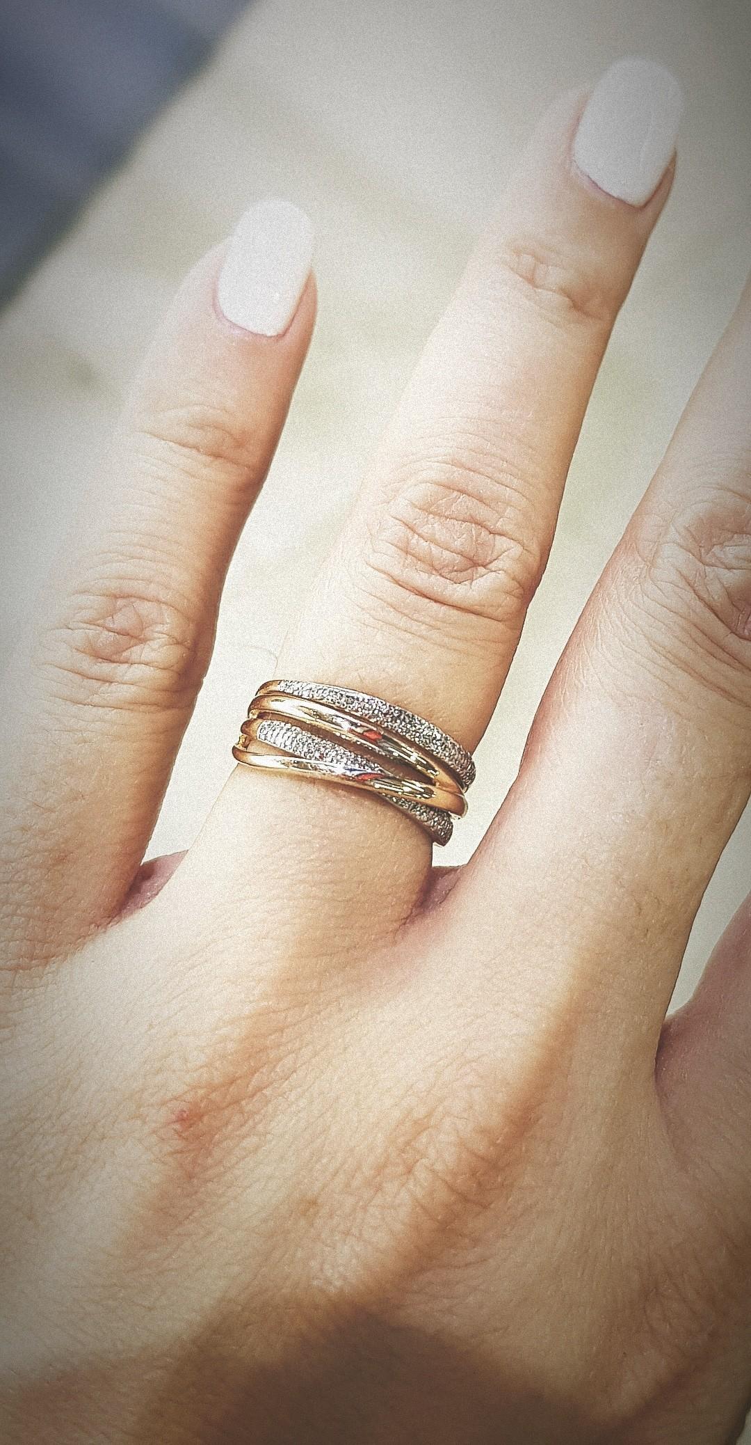 Замечательное кольцо! Мечтала о нем и муж исполнил мою мечту😍