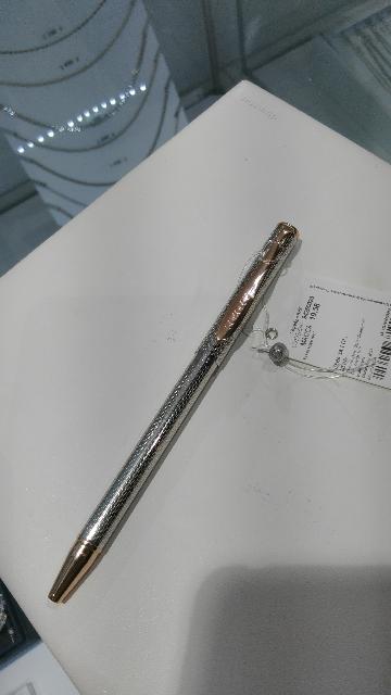Серебряная ручка от sokolov