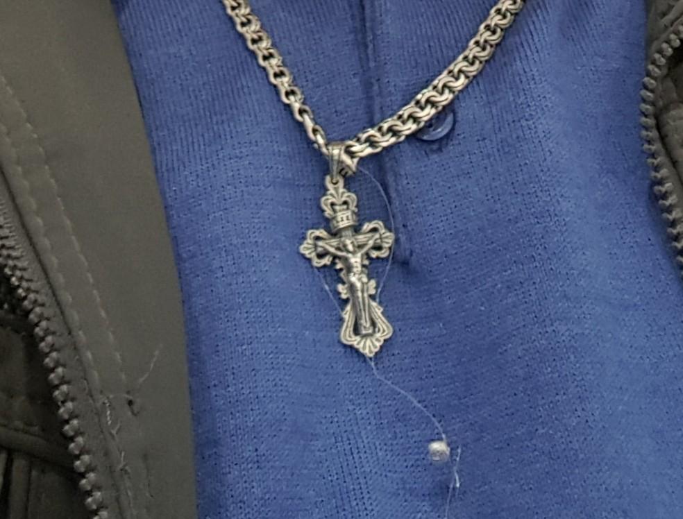 Крест на цепь