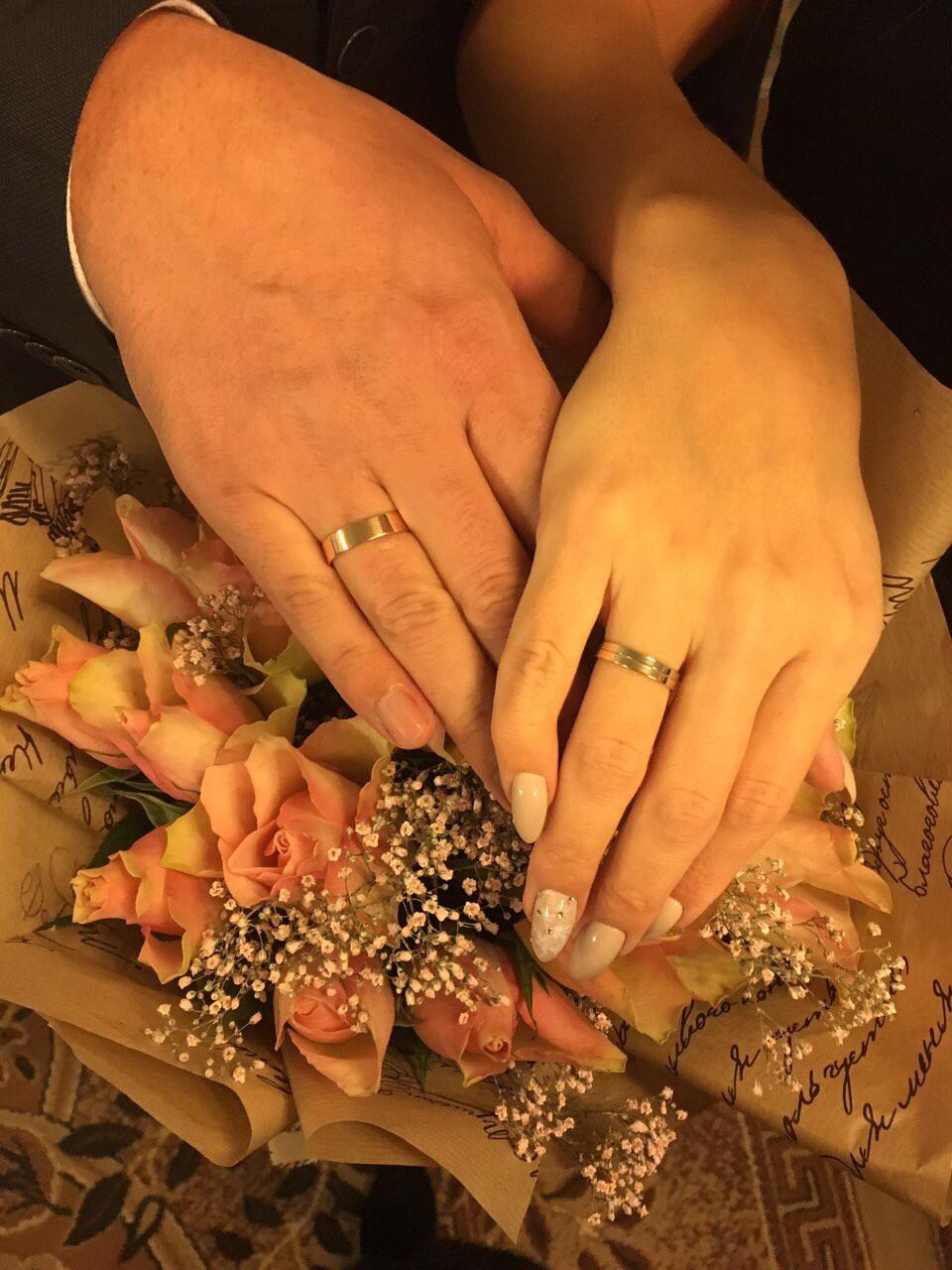 Любимое обручальное кольцо