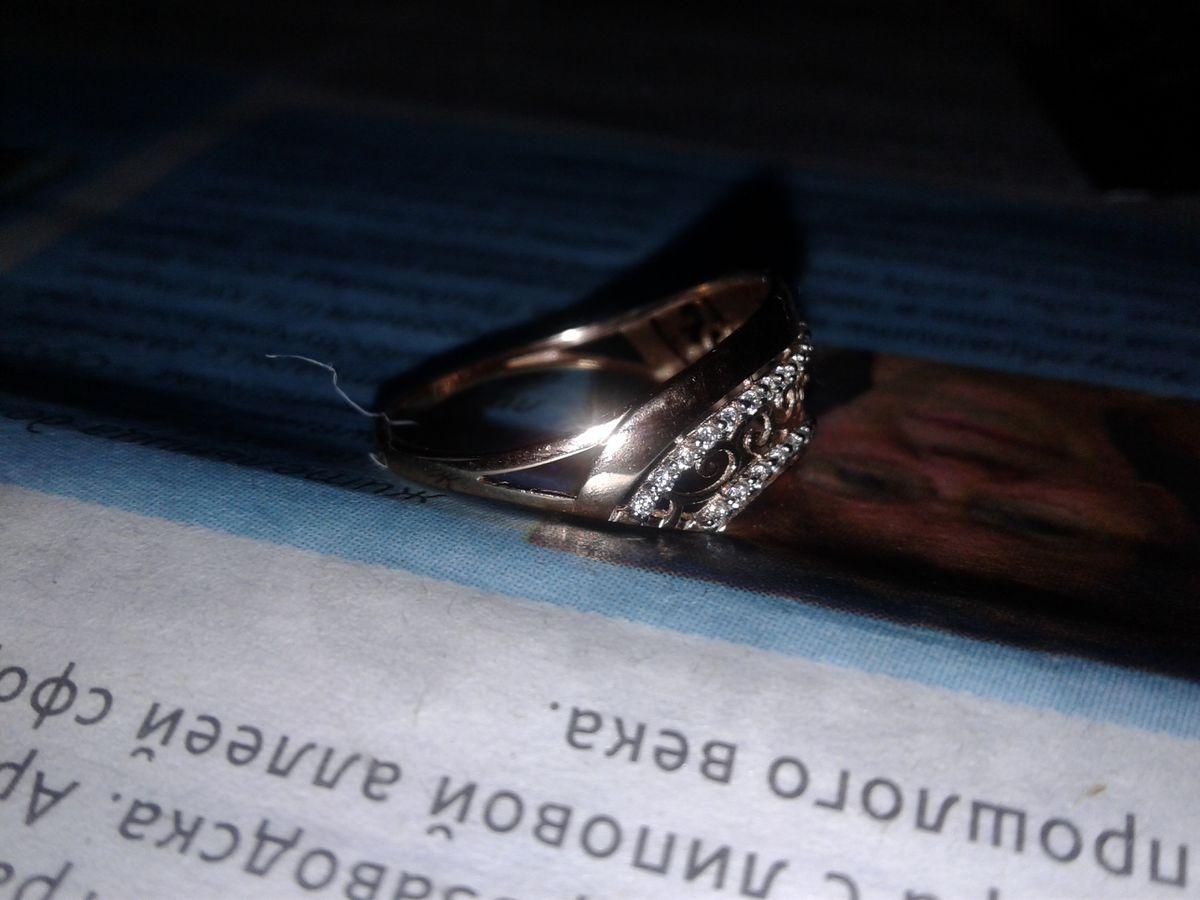 Очень шикарное кольцо.