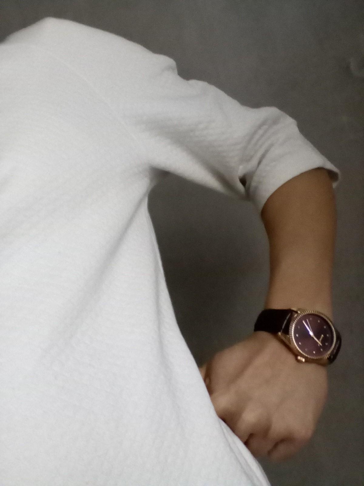 Элегантные наручные часы с натуральным кристаллами
