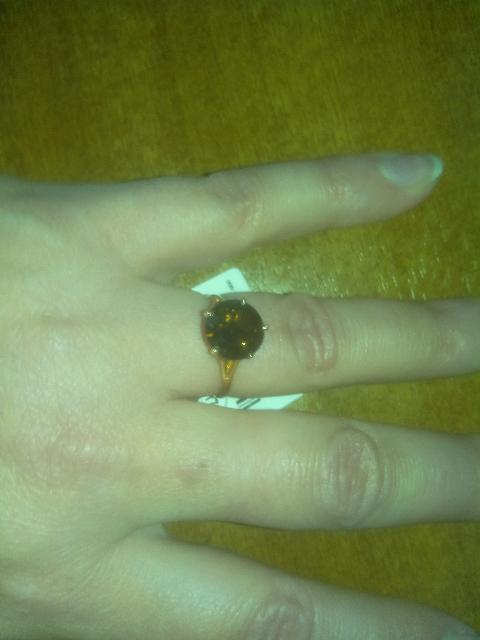 Кольцо с магическим камнем.