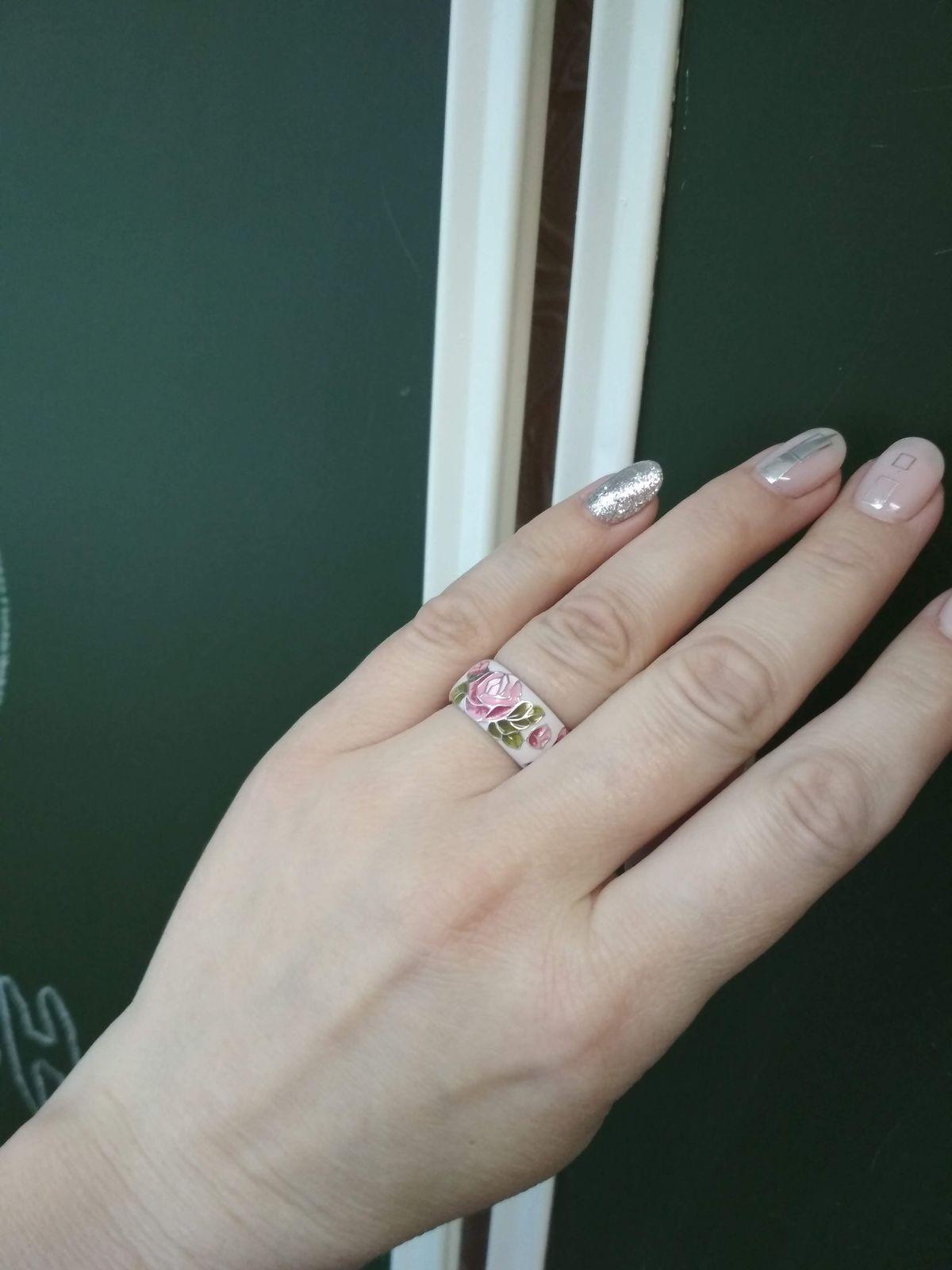 Милое и очень нежное кольцо