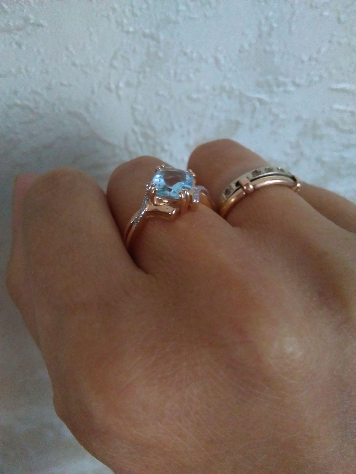 Топаз и бриллианты :)