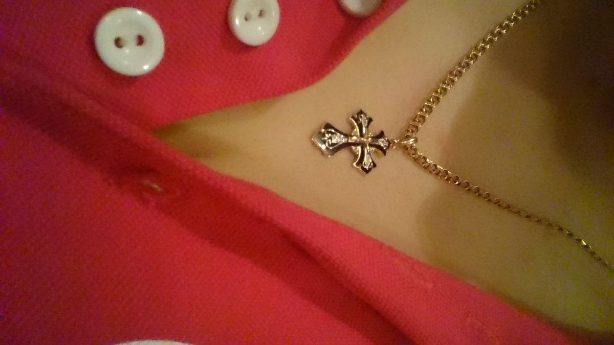 Нательный крест ➕.