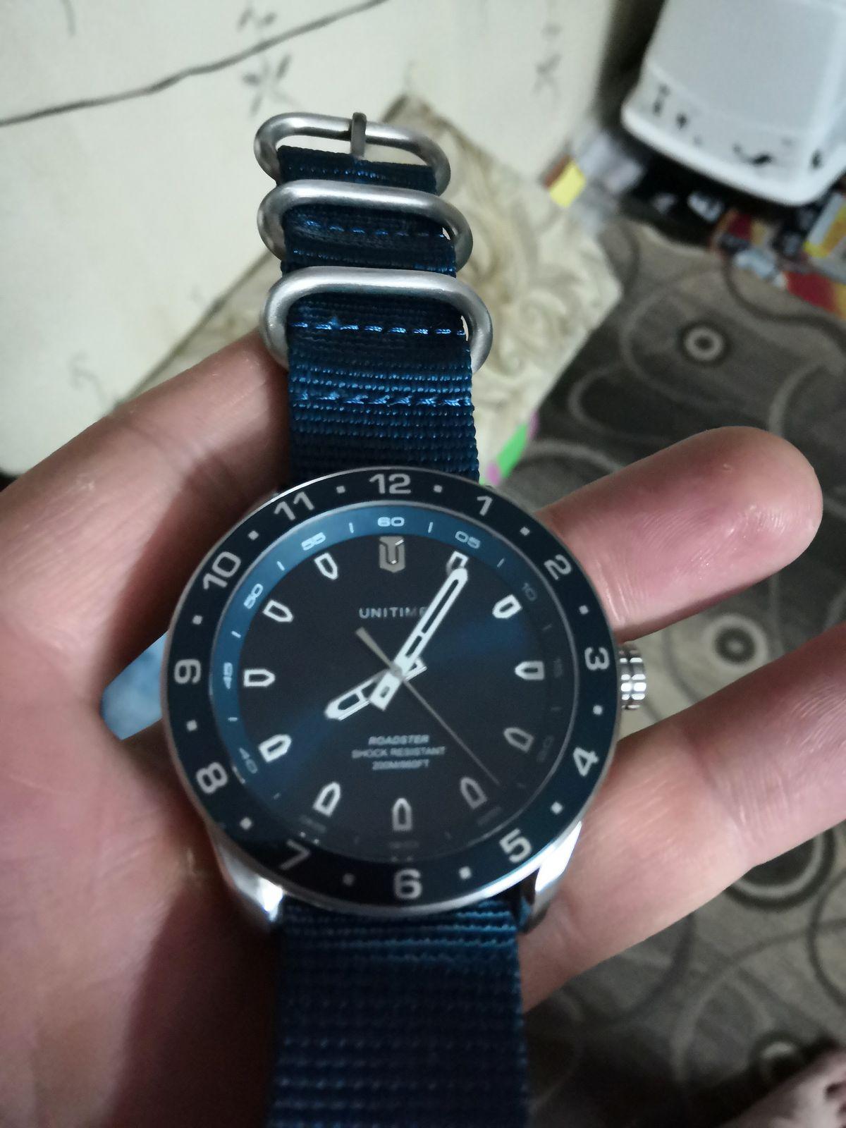 Супер. Классные тяжёлые часы!