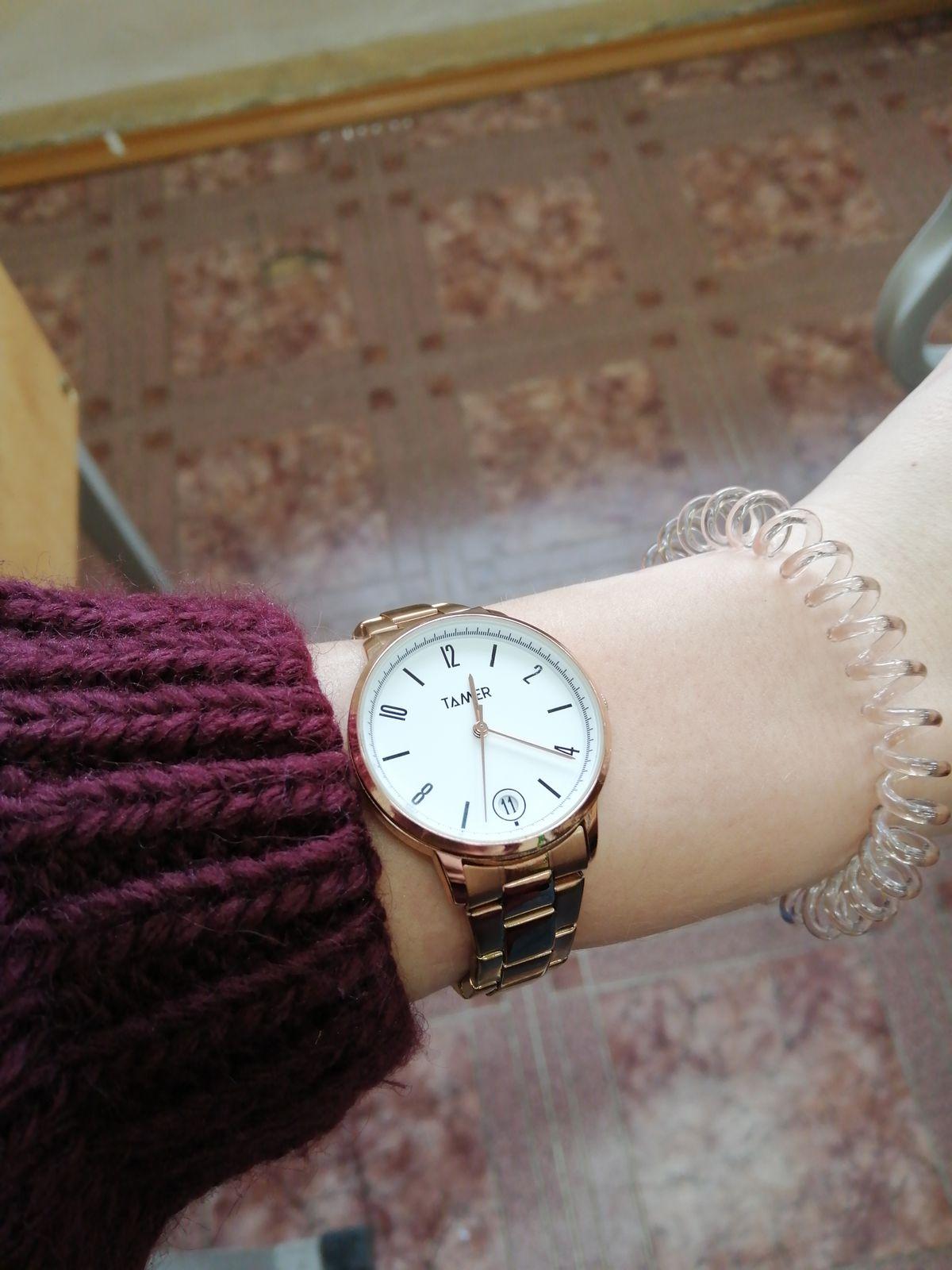 Часы покупала весной
