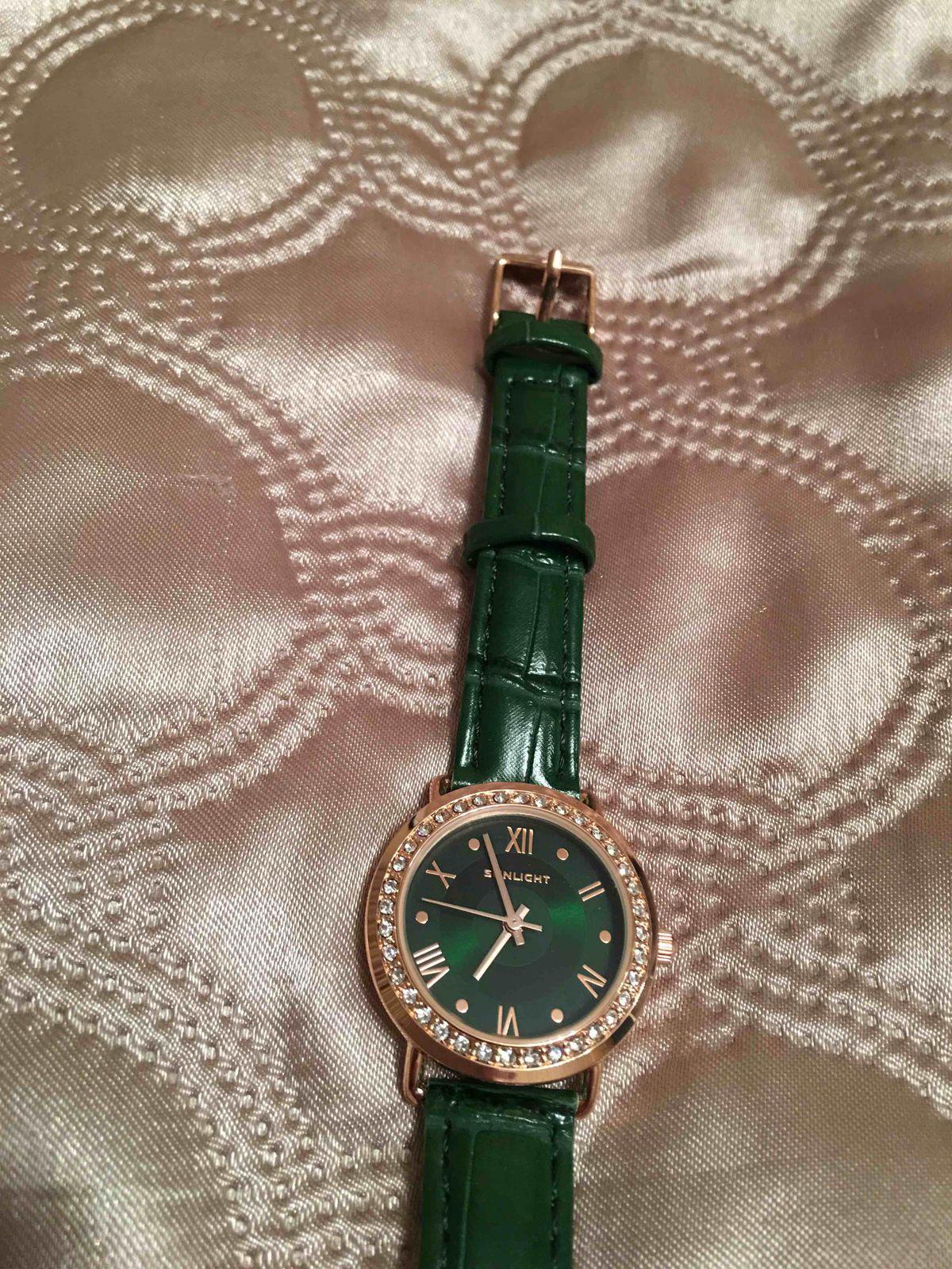 Зеленные часы