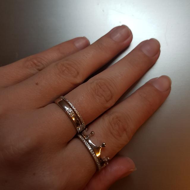 Очень лаконичное кольцо)))