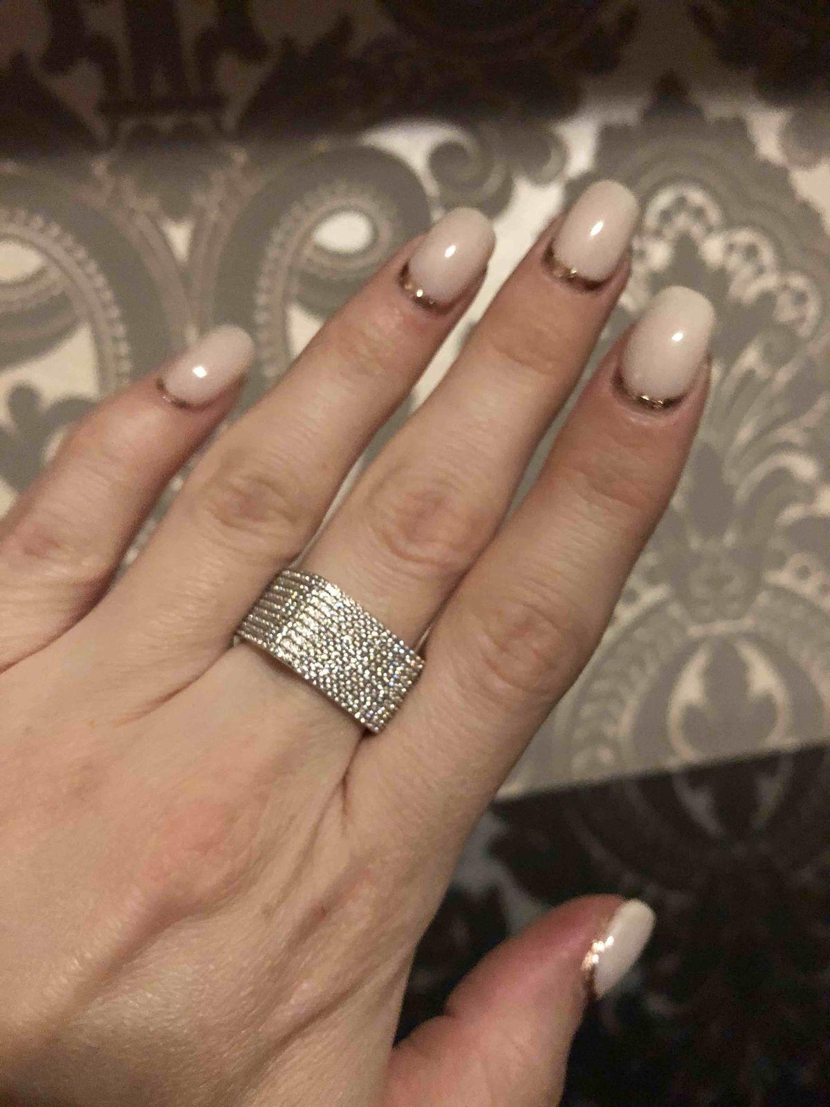 Кольцо необычной формы