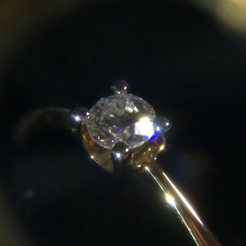 Классика с бриллиантом