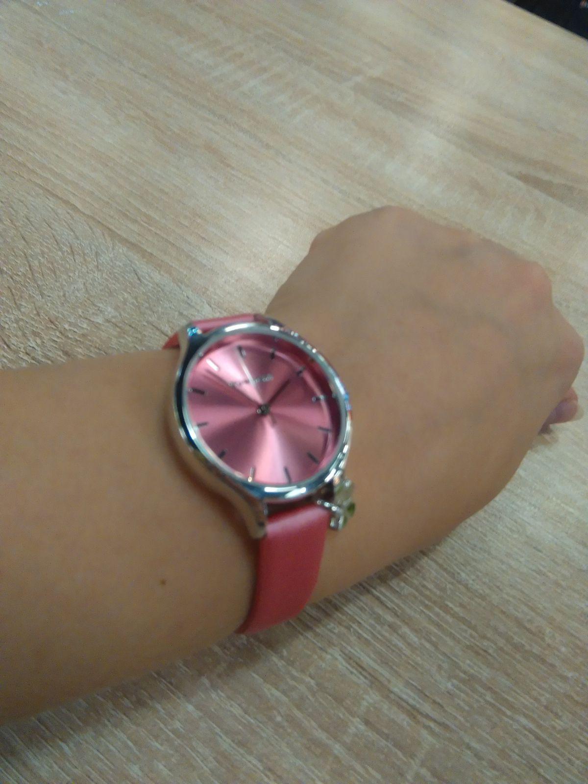 Решила купить часы.