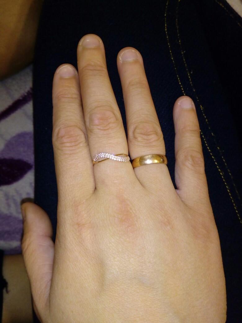 Кольцо подруге на день рождения