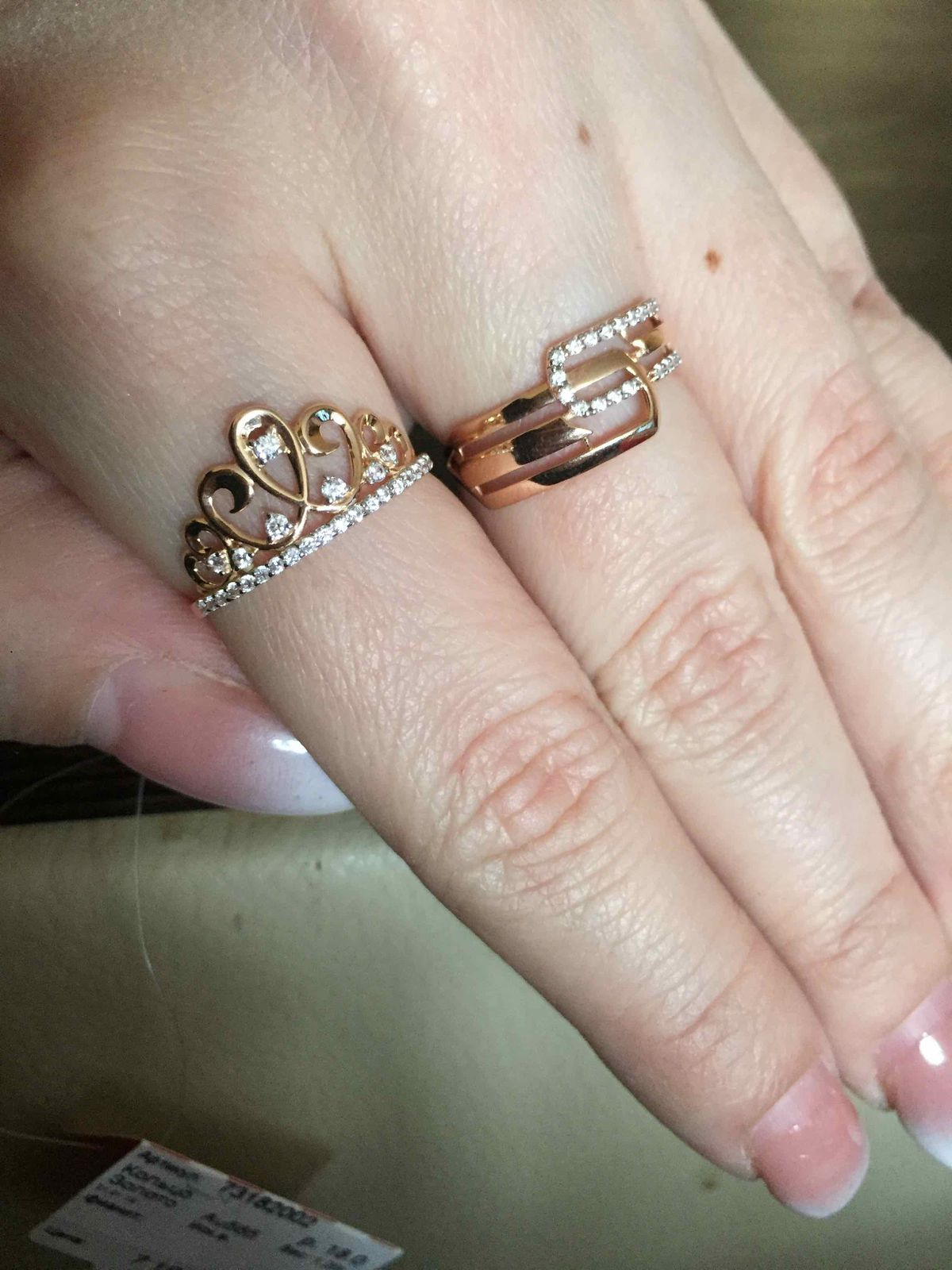 Кольцо для настоящей принцессы!!!